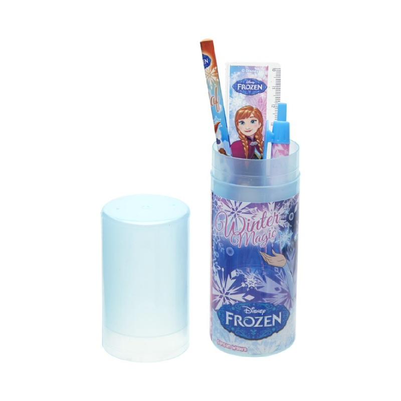Frozen Pencil Case Tabung Set