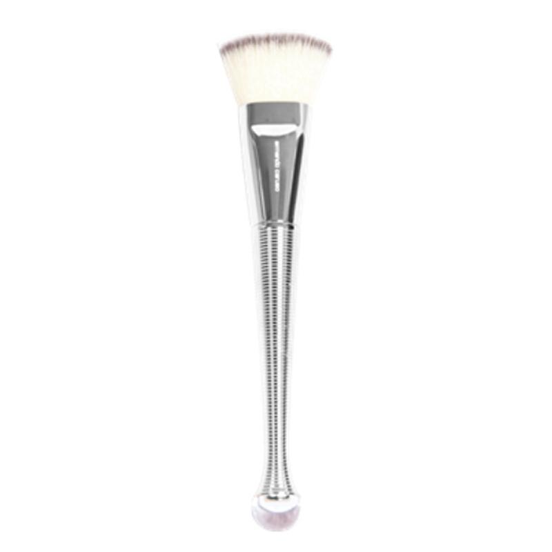 AC-905S Flat Top Contoured Brush, Silver