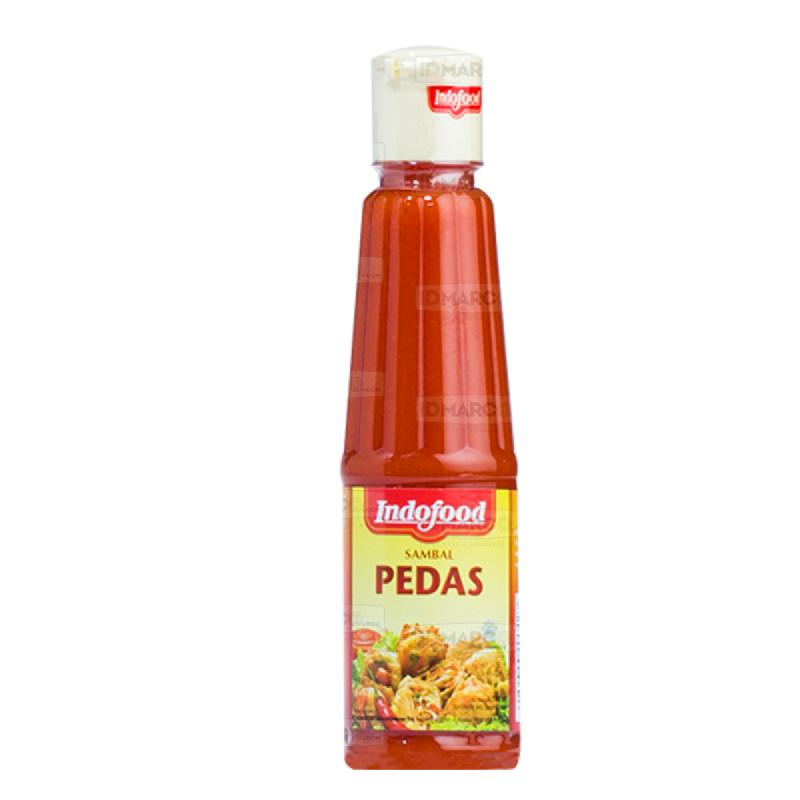 Sambal Indofood Pedas Botol 140 ml