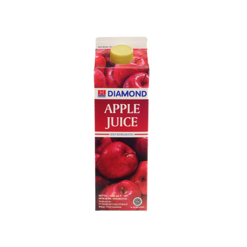 Diamond Apple Juice Unswt 1Lt
