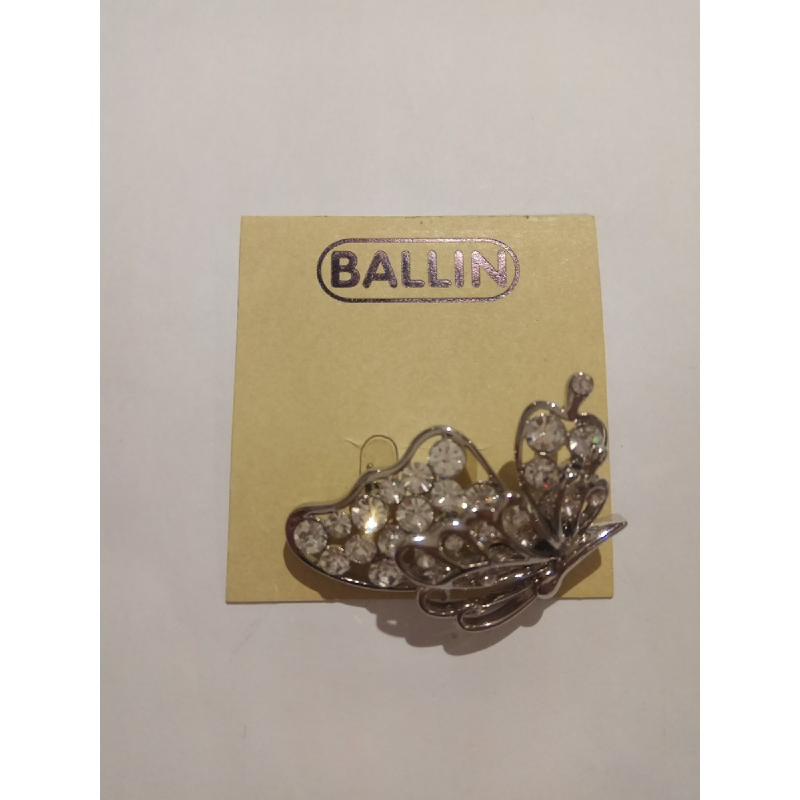 Ballin Women Brooch CB-BR55-02631S Silver