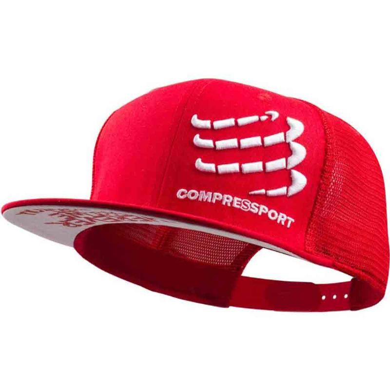 COMPRESSPORT Trucker Cap Red