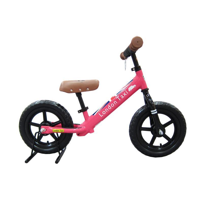 London Taxi Kickbike Sepeda - Pink Pink - Pink
