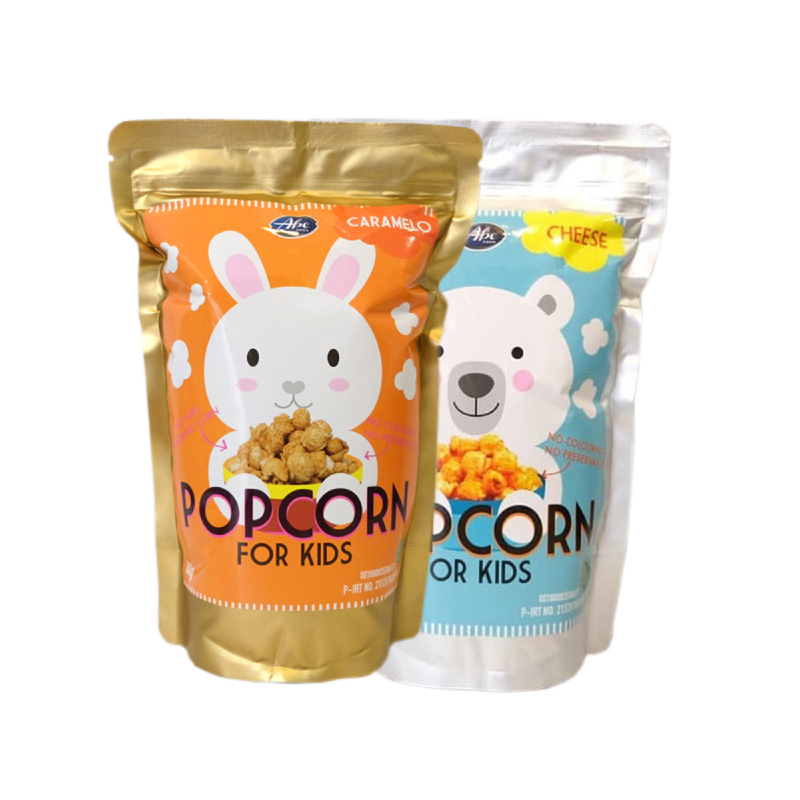 Abefood Caramelo Pop Corn For Kids + Abefood Cheese Pop Corn For Kids