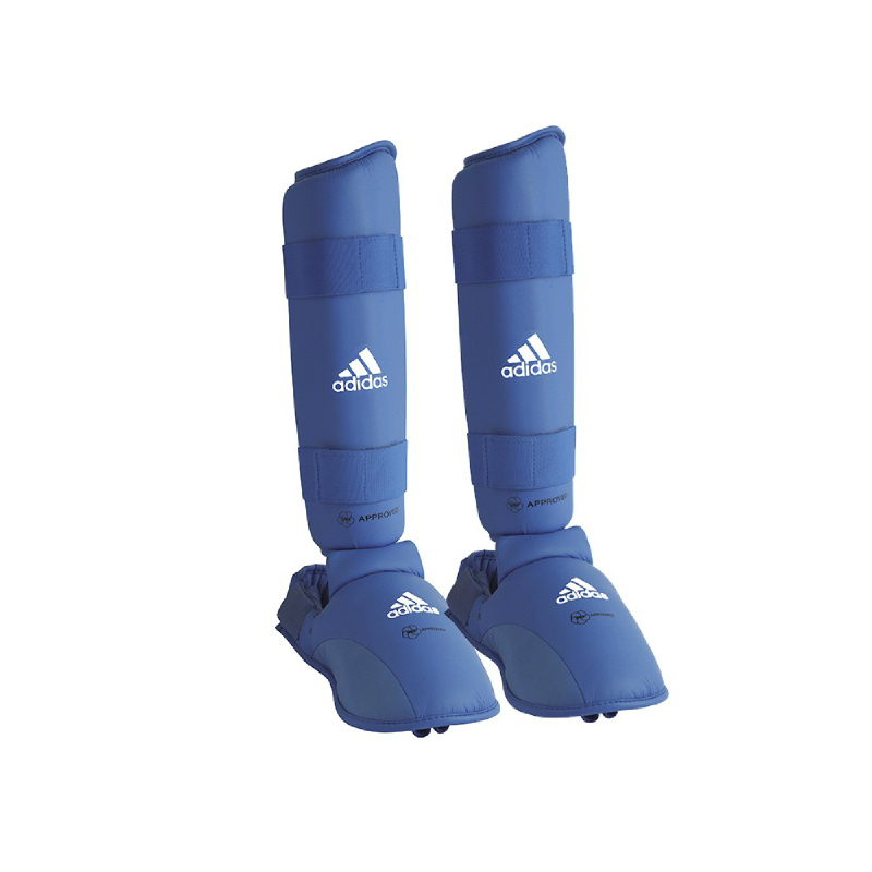Adidas Combat Wkf Shin Instep Blue