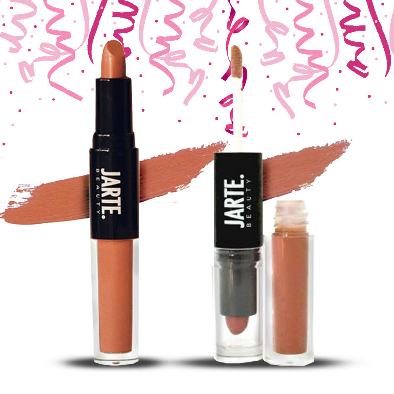 Jarte Beauty 2in1 Matte Lipstick and Soft Lip Cream Scarlett (2pcs)