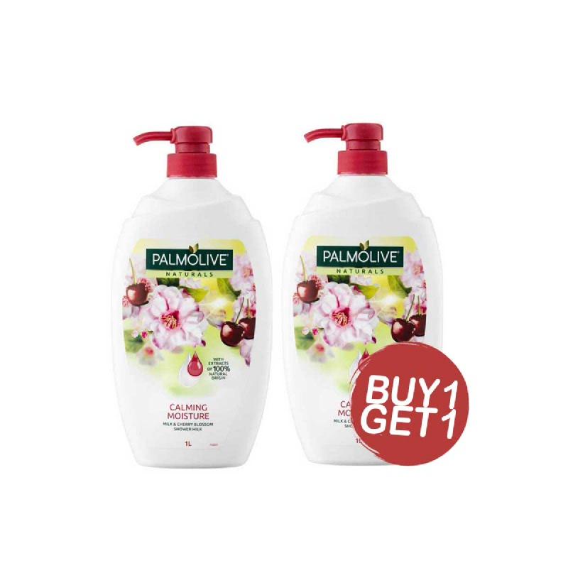 Palmolive Sabun Mandi Naturals Calming Moisture 1L (Buy 1 Get 1)