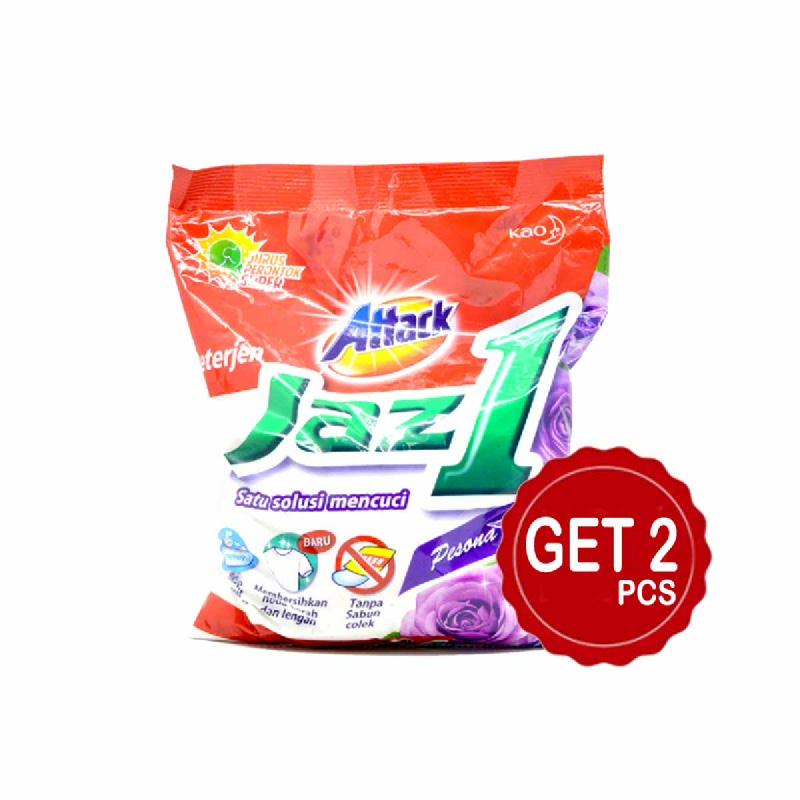 Attack Detergent Jaz1 Semerbak Segar 900 Gr (Get 2)