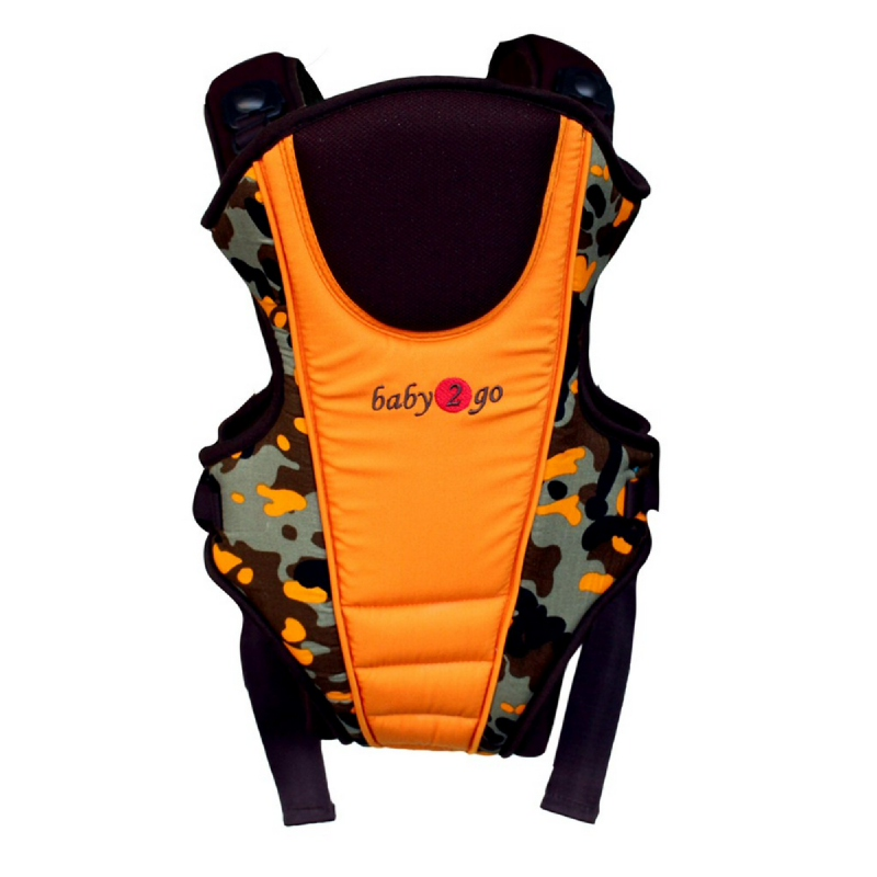 Baby 2 Go Carrier  Army 08B2GOBC08 Orange