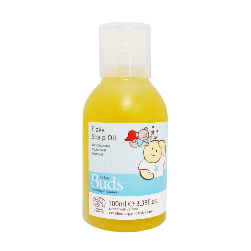 Buds Organics Flaky Sclap Oil [100 mL]