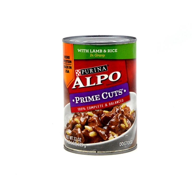 Alpo Makanan Anjing Prime Potongan Daging Domba 623 Gr