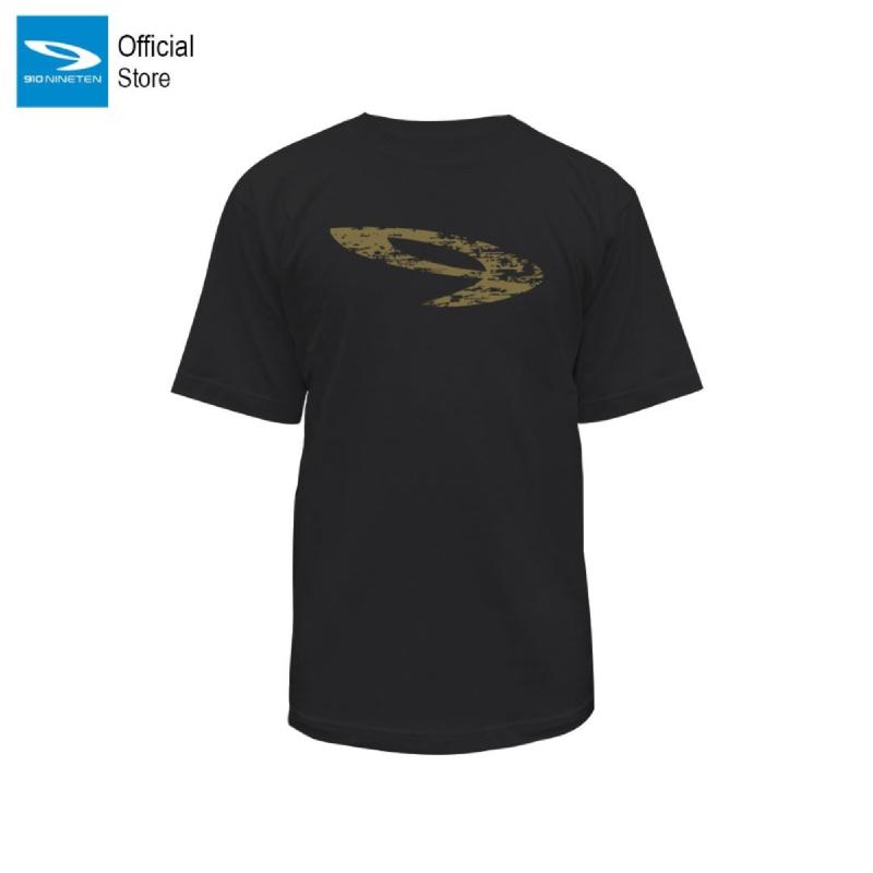 910 Nineten T Shirt Ikari Hitam