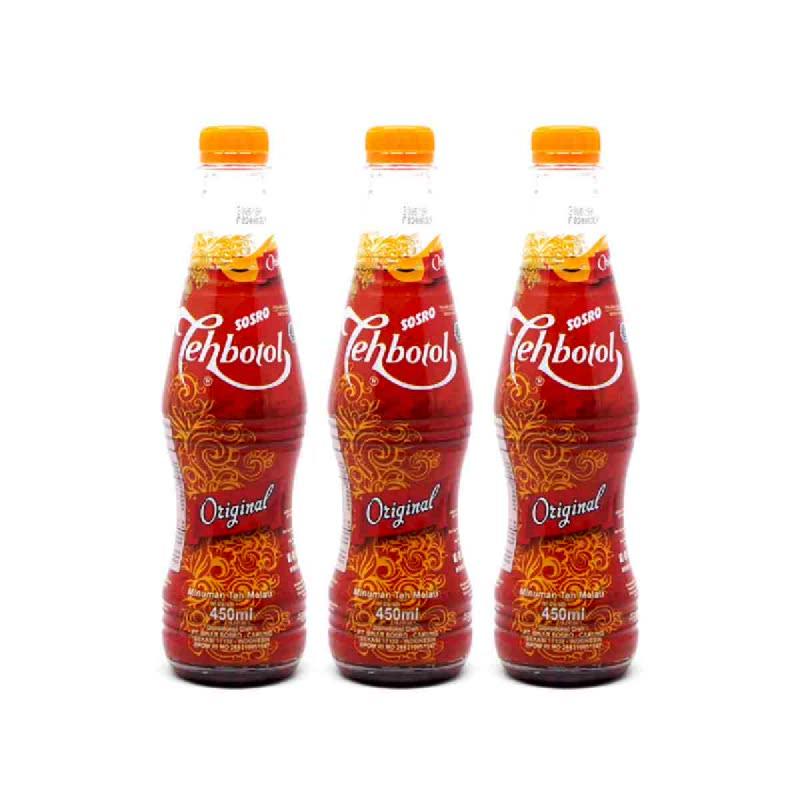 Sosro Teh Botol Sosro Original 450 Ml (Buy 2 Get 1)