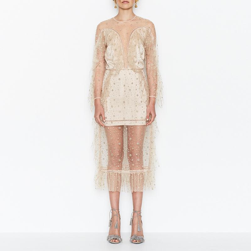 Diamond dress gold