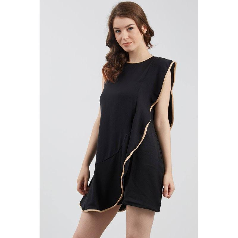 Deandra Frill Dress