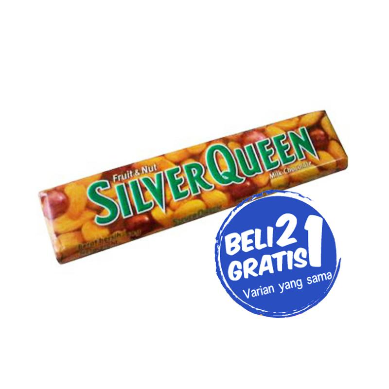 Silver Queen Fruit & Nut 65 G (Buy 2 Get 1)