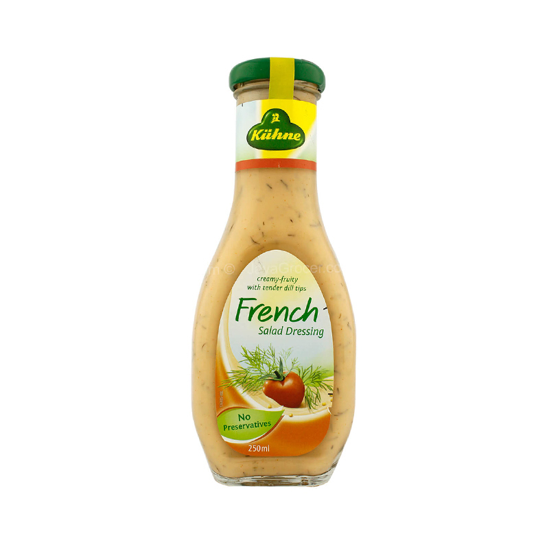 Kuhne Salad Dressing French 250Ml