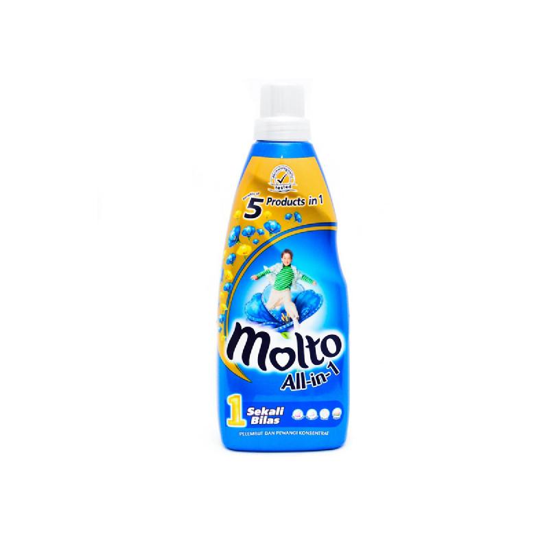 Molto All In 1 Blue Botol 800Ml