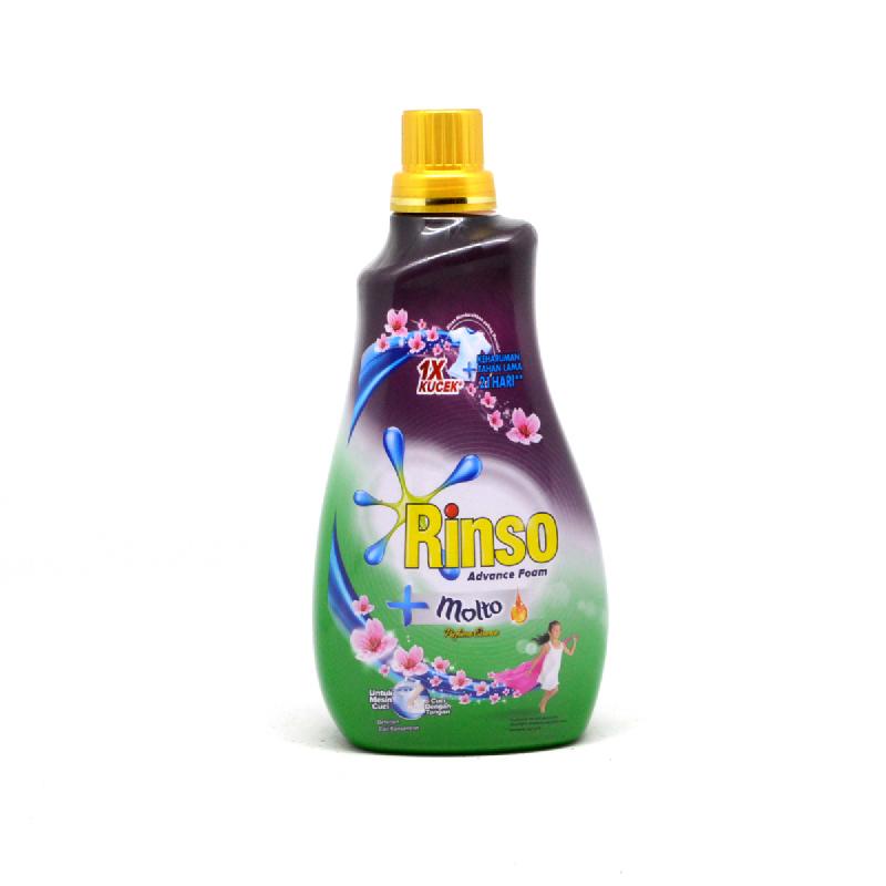 Rinso Liquid Molto Ultra Armless Essence Botol 1100 Ml