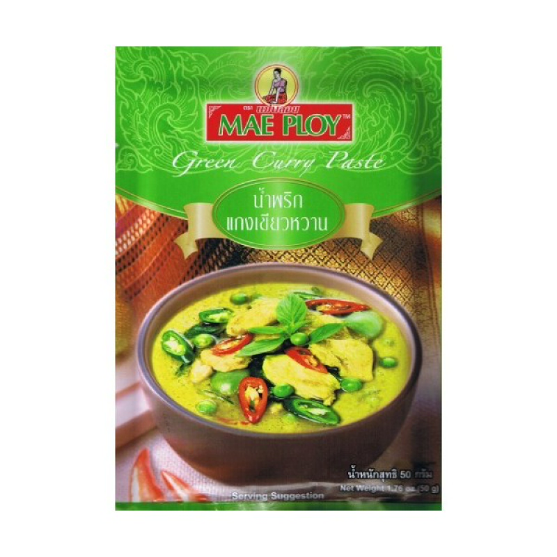 Mae Ploy Paste Green 50G