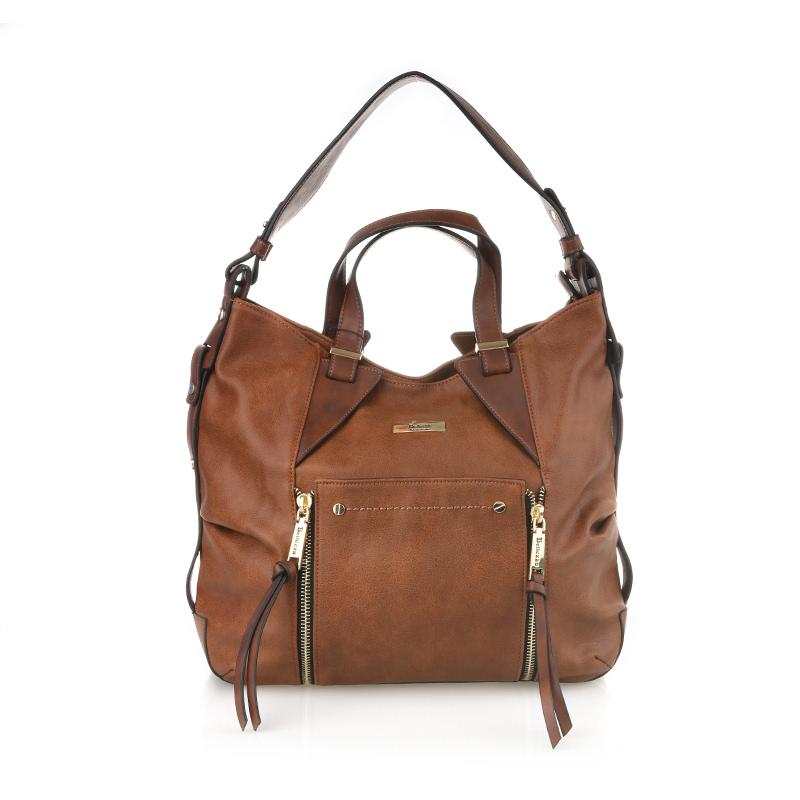 Bellezza Hand Bag CZ90071 Brown