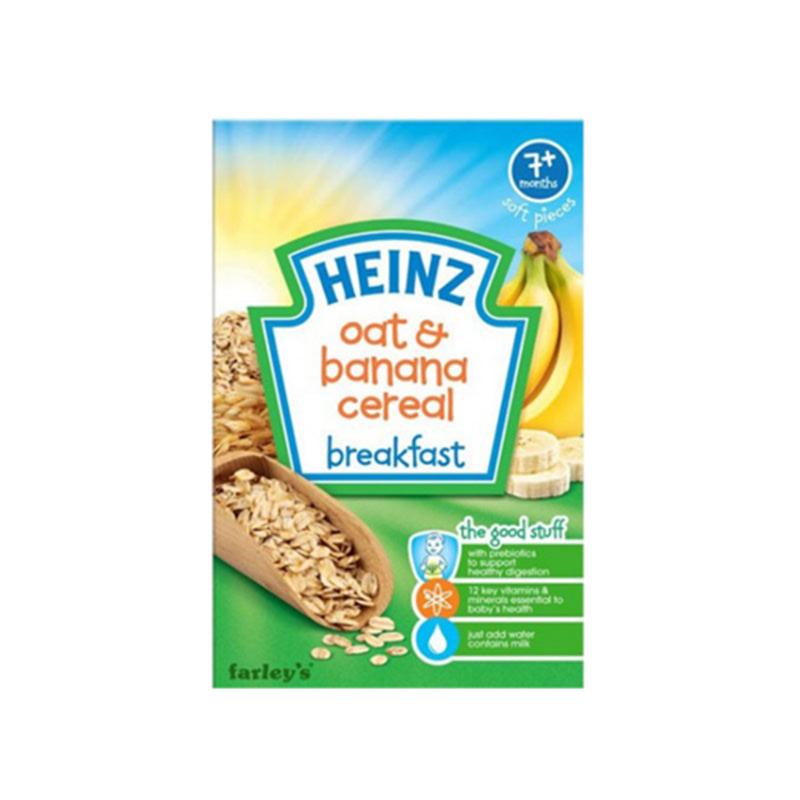 Heinz Breakfast Oat & Banana Cereal 120G