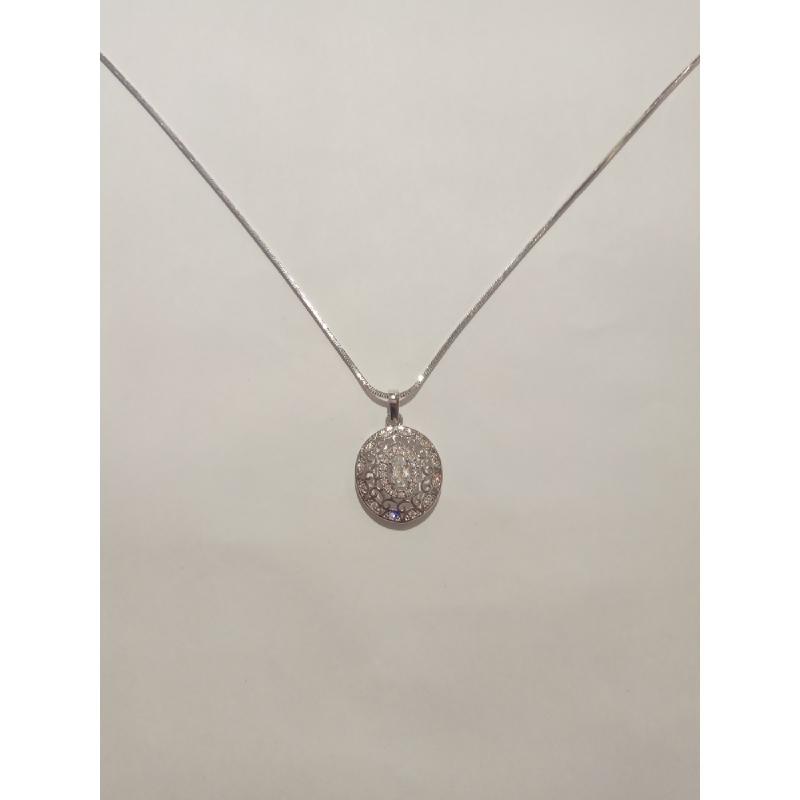 Ballin - Women Necklace FF N0093S Silver