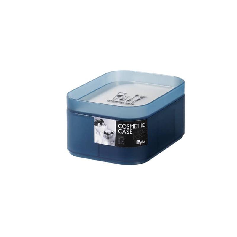 Lock & Lock INP612B INPlus Cosmetic 6 Divided Case (S)  Blue