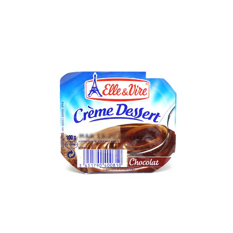 French Dessert Chocolate Dairy Pudding