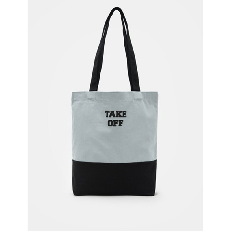 8 seconds Women Light Grey Color Ecobag