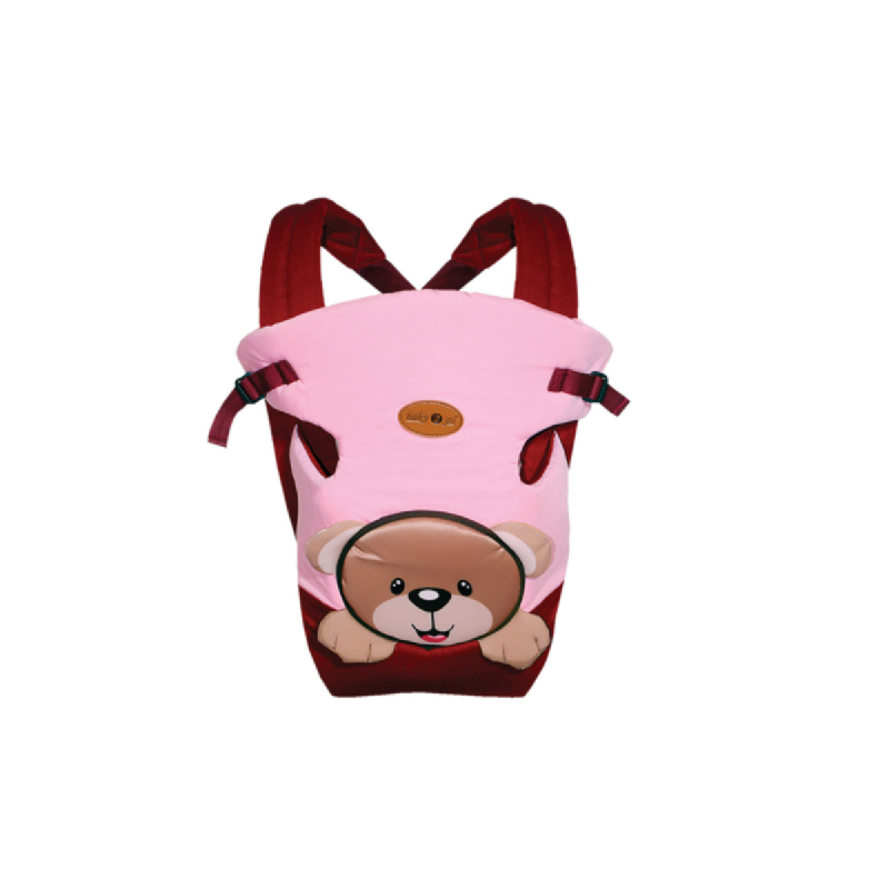 Baby 2 Go Baby Carier  Bear Series beruang B2G4104 Pink