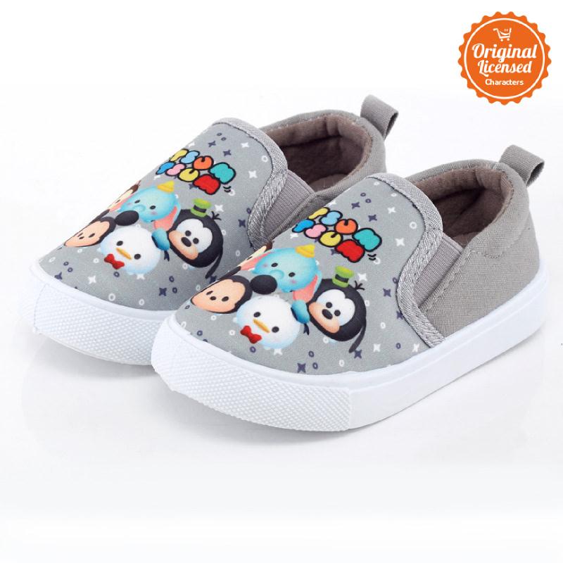 Disney Tsum Tsum Flat Shoes Girl Grey